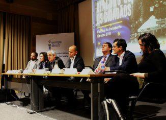 """Deputados europeus em """"Diálogo com os cidadãos"""""""