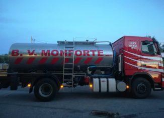 Camião dos bombeiros de Monforte