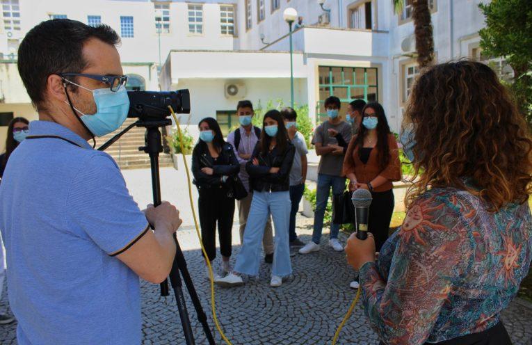 Alunos da Escola Secundária Mouzinho da Silveira desenvolveram atividades de literacia mediática